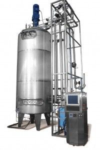 Production-scale fermenter 10000L